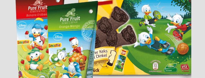 Arbeitsbeispiel Biscotto & Pure Fruit
